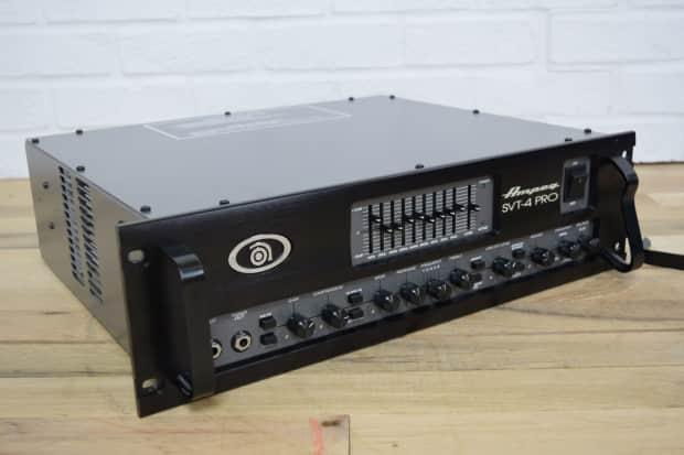 ampeg svt4 pro tube bass amp head mint made in usa used reverb. Black Bedroom Furniture Sets. Home Design Ideas