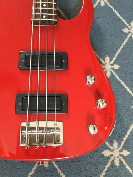 Peavey Foundation Bass Circa 1990 Red