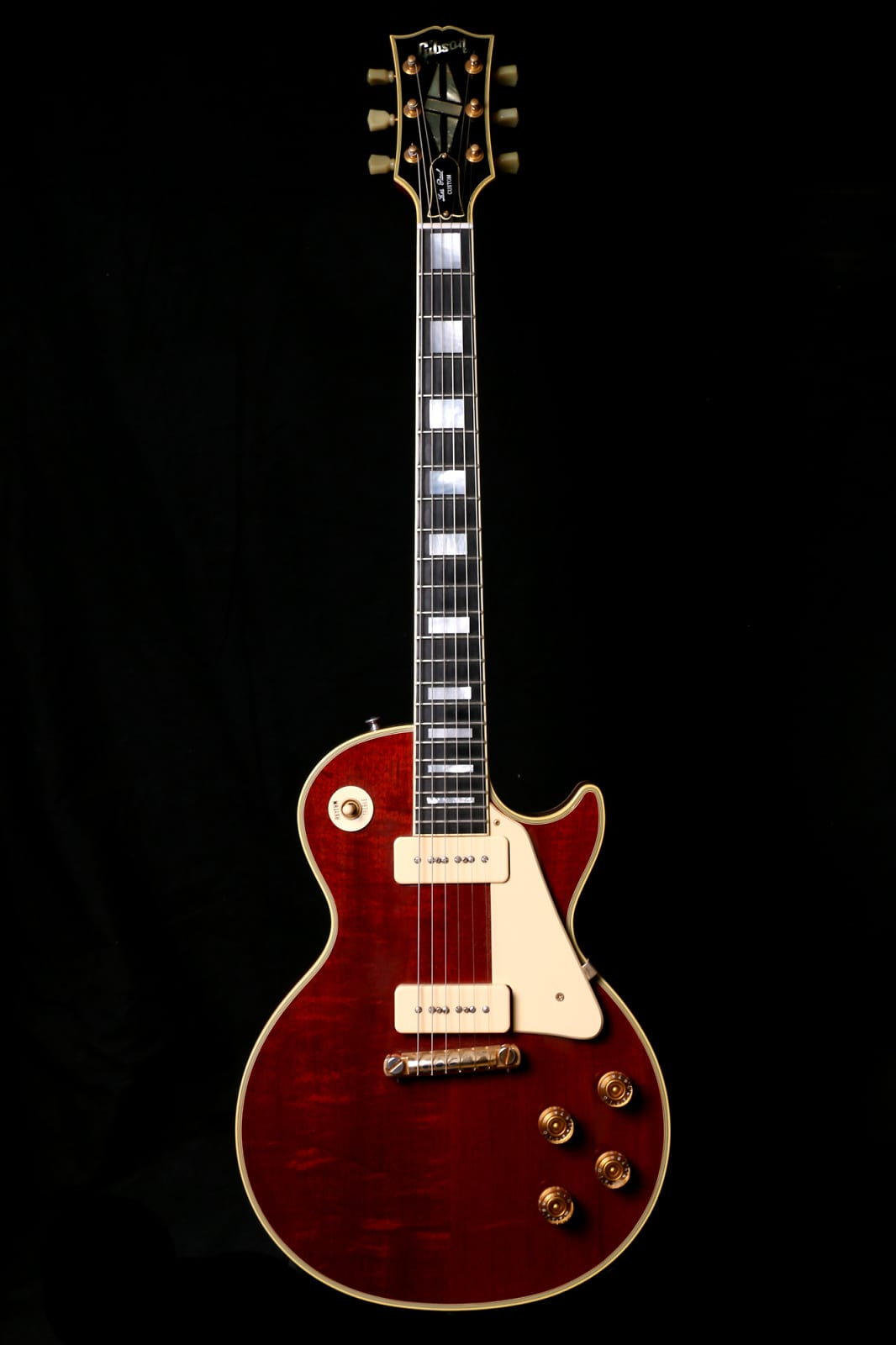 1999 gibson 1958 les paul natural p90 wrap around ohsc reverb. Black Bedroom Furniture Sets. Home Design Ideas