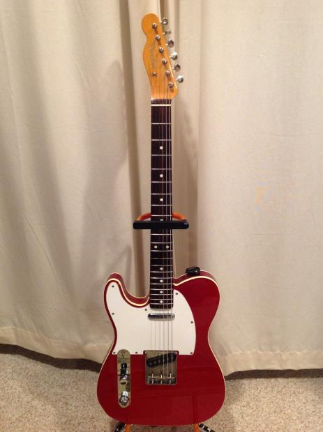 Lefty Left Handed Fender Telecaster 62 Reissue Mij Reverb