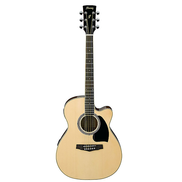 ibanez pc15ecent acoustic electric guitar natural w case reverb. Black Bedroom Furniture Sets. Home Design Ideas