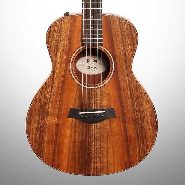 Taylor Gs Mini E Koa Acoustic Electric Guitar With Bag