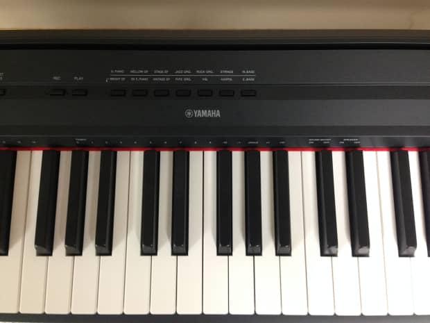 Yamaha p115 digital piano yamaha stand reverb for Yamaha p115 piano