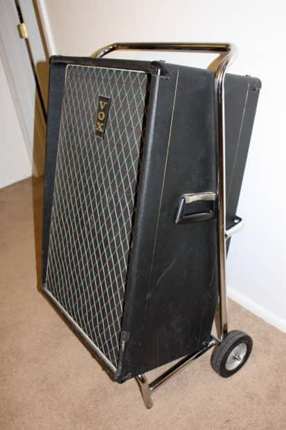 1967 Vox Essex Bass Amplifier V1043 Chrome Trolley