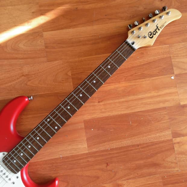cort strat style solid body electric guitar reverb. Black Bedroom Furniture Sets. Home Design Ideas