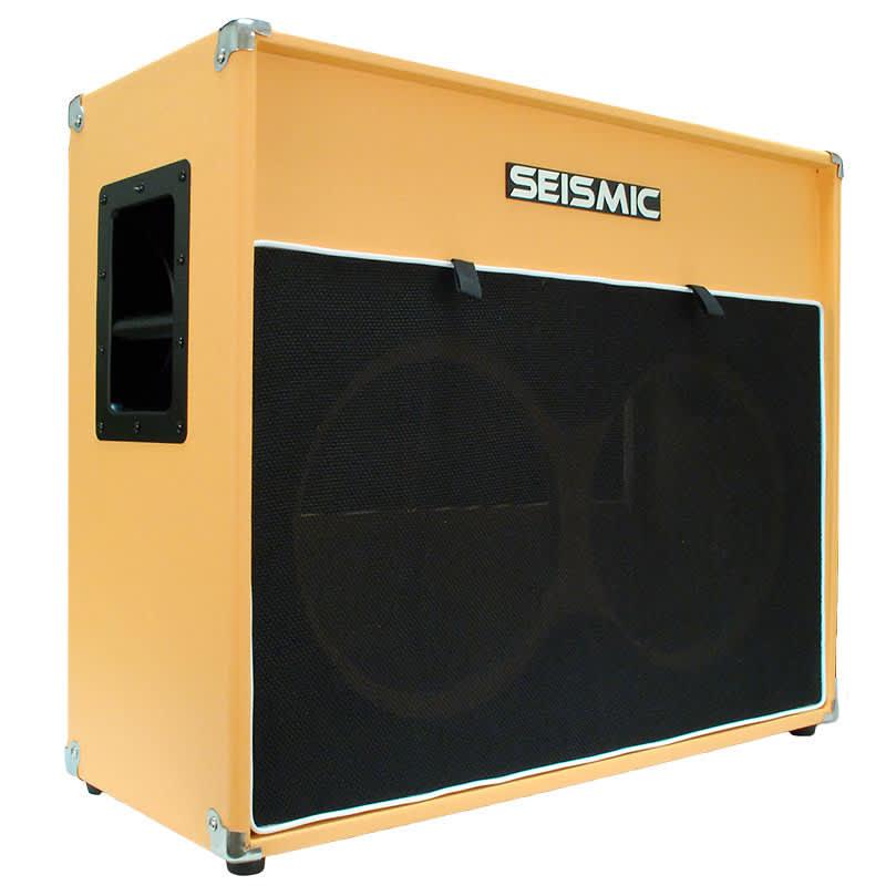 2x12 empty guitar speaker cabinet orange tolex cab 212 reverb. Black Bedroom Furniture Sets. Home Design Ideas