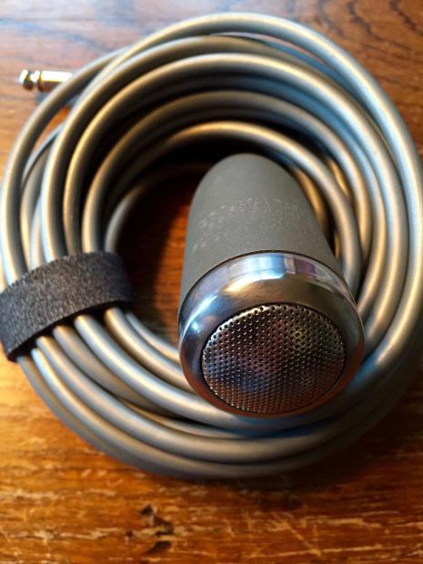 rare vintage electro voice ev 624 dynamic lavalier microphone lav mic vocals electric guitar. Black Bedroom Furniture Sets. Home Design Ideas