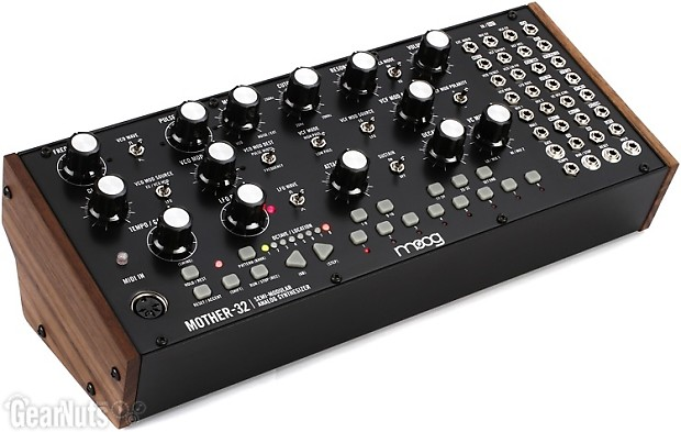 moog mother 32 semi modular eurorack analog synthesizer and reverb. Black Bedroom Furniture Sets. Home Design Ideas