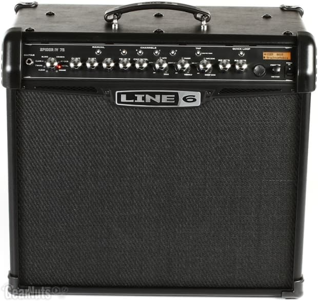 Line 6 spider 4 75 manualidades