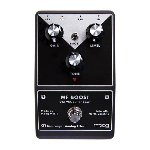 Moog Minifooger MF Boost Booster Guitar Effects Pedal image