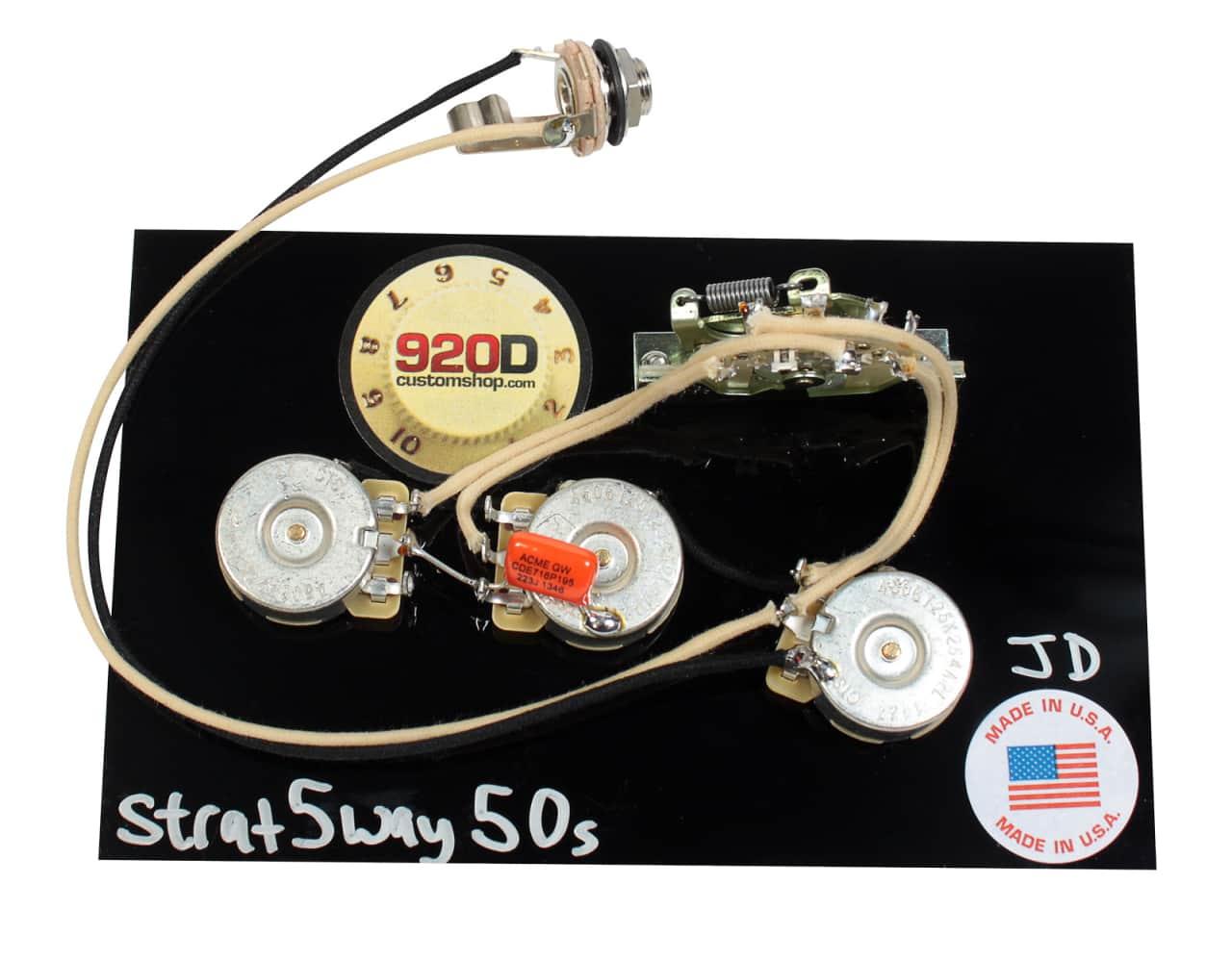 920d custom shop fender strat 5