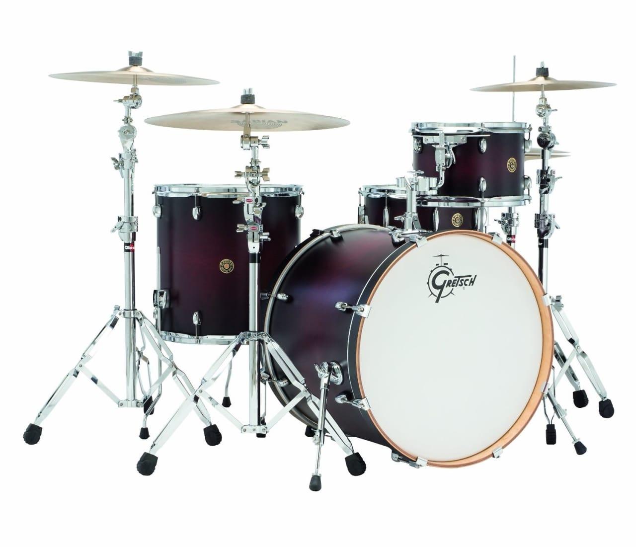gretsch catalina maple 4 piece drum set satin deep cherry reverb. Black Bedroom Furniture Sets. Home Design Ideas
