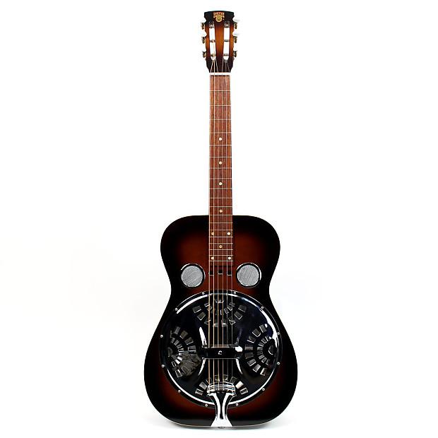 1982 vintage dobro square neck 6 string resonator acoustic reverb