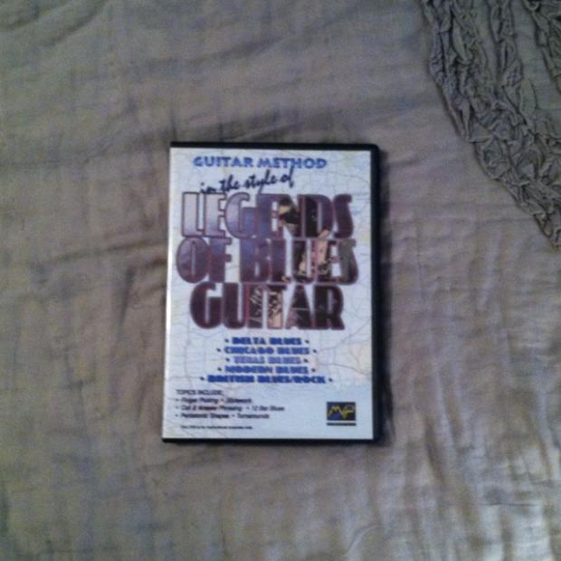 blues guitar instructional dvd
