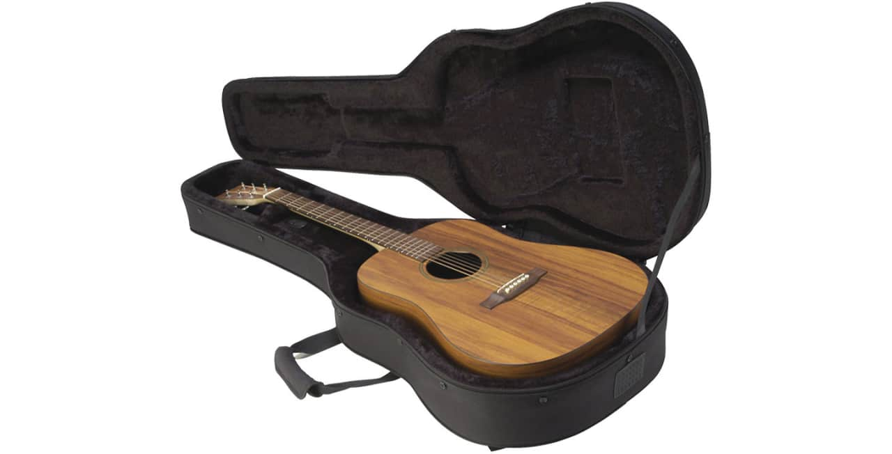skb semi hard acoustic dreadnought soft guitar case reverb. Black Bedroom Furniture Sets. Home Design Ideas