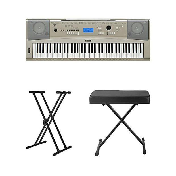 Yamaha ypg 235 76 key portable grand piano keyboard gray for Yamaha ypg 235 keyboard