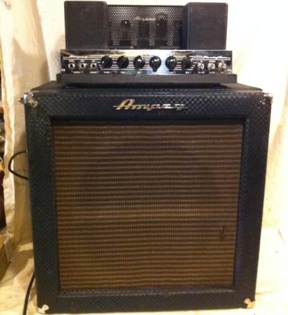 vintage ampeg bass amps