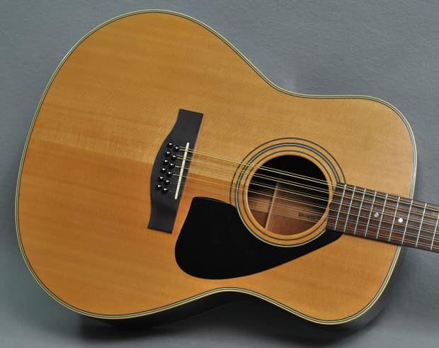 vintage yamaha l series 12 string acoustic guitar natural reverb. Black Bedroom Furniture Sets. Home Design Ideas
