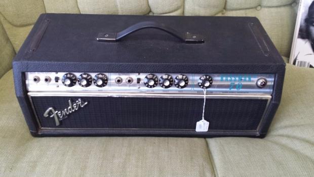 70 39 s fender bassman 70 electric guitar amplifier head vintage silverface amp reverb. Black Bedroom Furniture Sets. Home Design Ideas