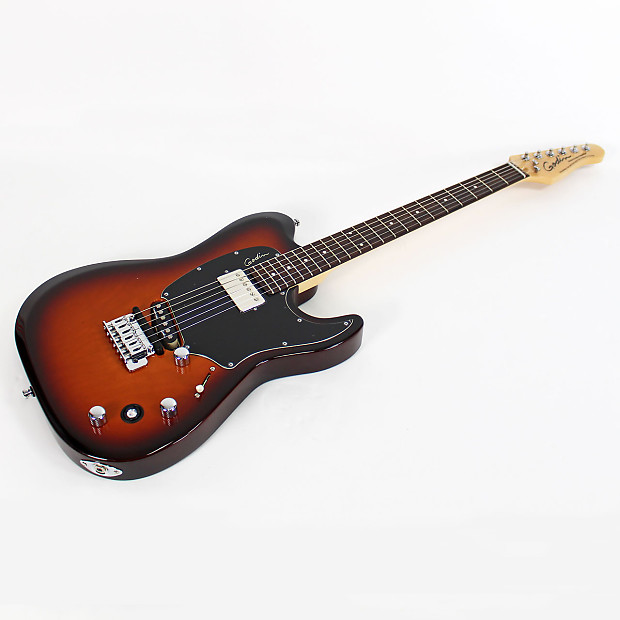 godin session custom tripleplay lightburst hg electric guitar reverb