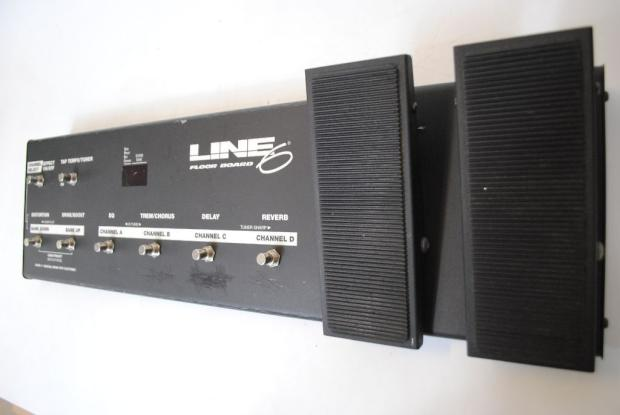 line 6 pod v2 with line 6 floor board and psu reverb. Black Bedroom Furniture Sets. Home Design Ideas