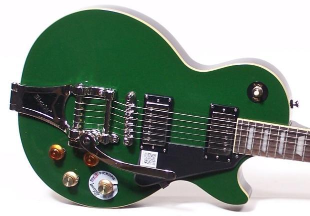 epiphone ltd edition joe bonamassa les paul guitar with bigsby and case iverness green reverb. Black Bedroom Furniture Sets. Home Design Ideas