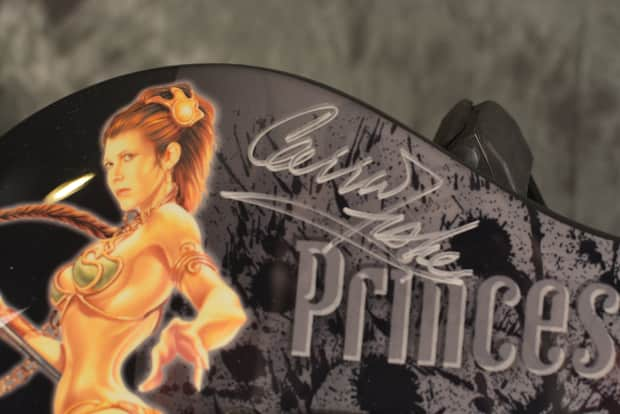 Fisher Auto Sales >> Peavey Star Wars Predator Princess Slave Leia AUTOGRAPHED ...