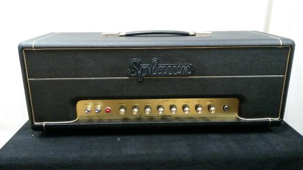 2015 splawn custom competition 50 guitar amplifier head reverb. Black Bedroom Furniture Sets. Home Design Ideas