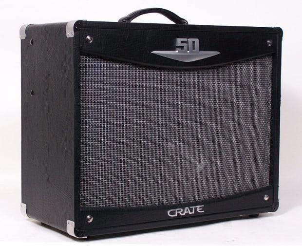 crate v50 v tube guitar amplifier v50 112 amp vintage 50 reverb. Black Bedroom Furniture Sets. Home Design Ideas