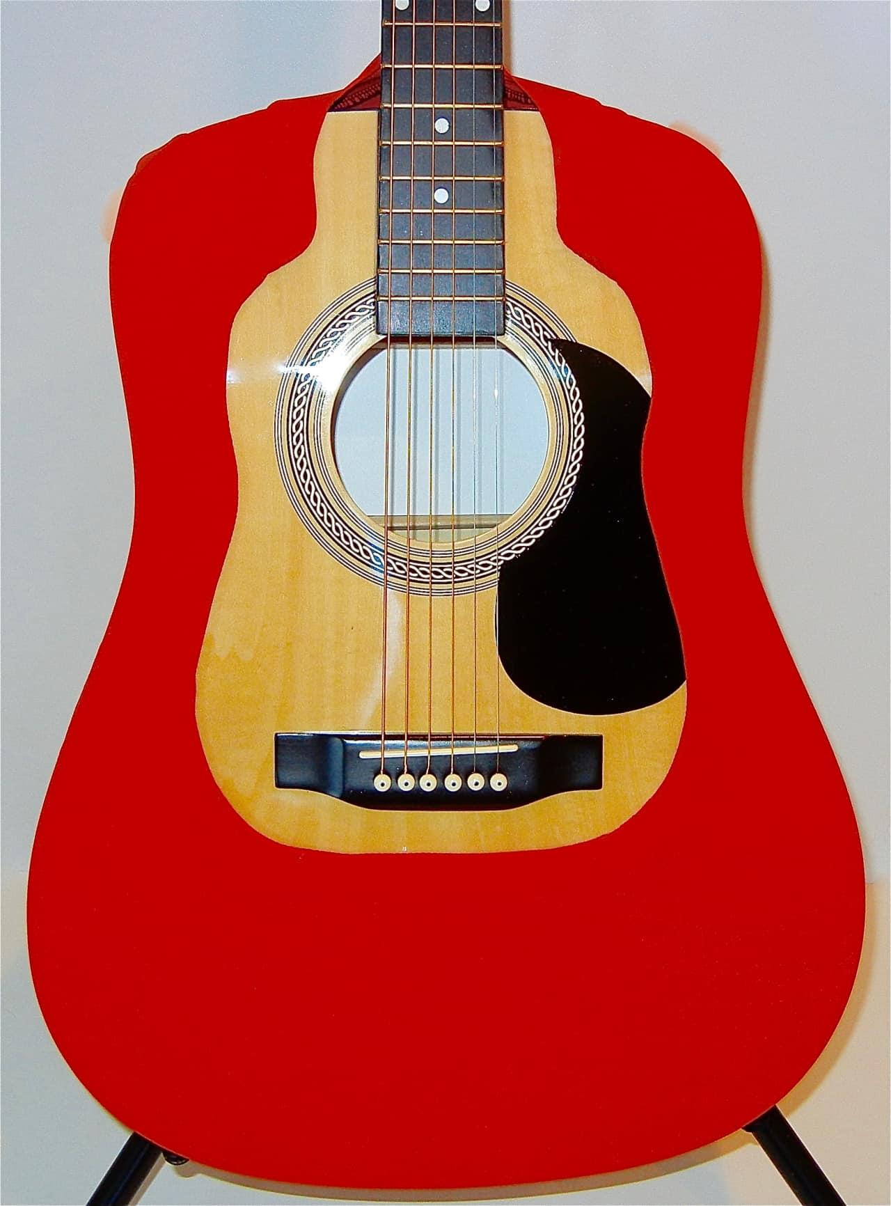 acoustic guitar cover vest red dreadnought fits martin reverb. Black Bedroom Furniture Sets. Home Design Ideas
