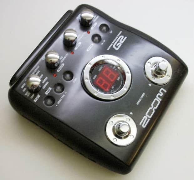zoom g2 multi effects guitar pedal reverb. Black Bedroom Furniture Sets. Home Design Ideas