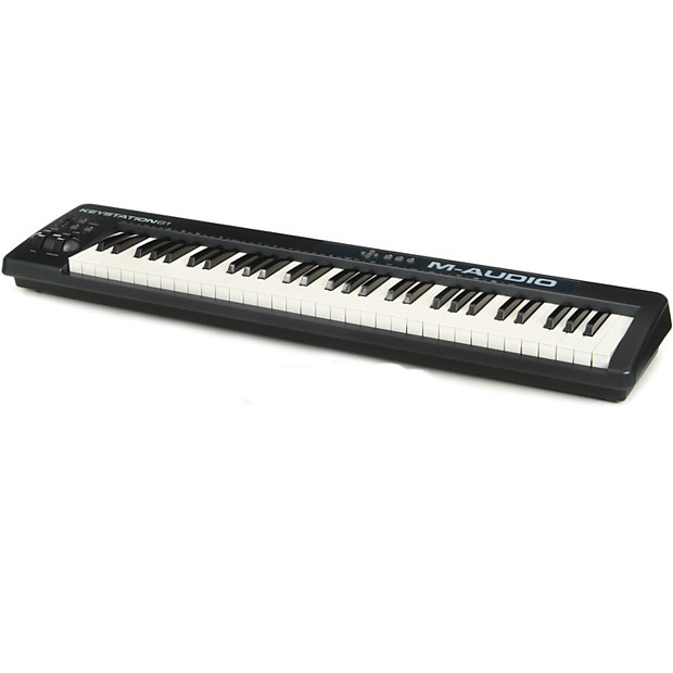 m audio keystation 61 midi controller reverb. Black Bedroom Furniture Sets. Home Design Ideas