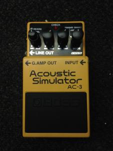 Boss AC-3 Acoustic Simulator image