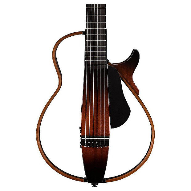 yamaha slg200n tbs nylon string silent guitar w bag reverb. Black Bedroom Furniture Sets. Home Design Ideas