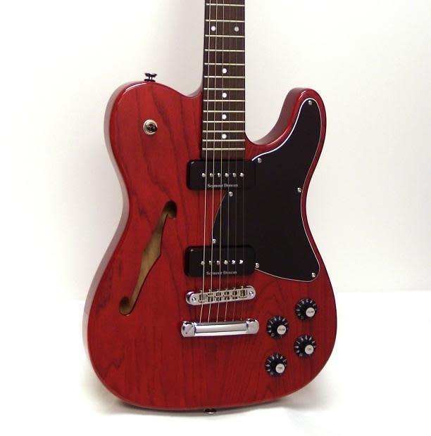 fender jim adkins ja 90 telecaster thinline electric guitar reverb. Black Bedroom Furniture Sets. Home Design Ideas