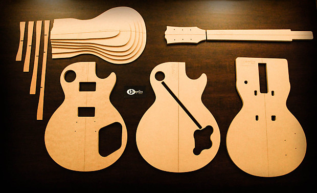 les paul top carving template - henriks guitars 39 59 les paul template set reverb