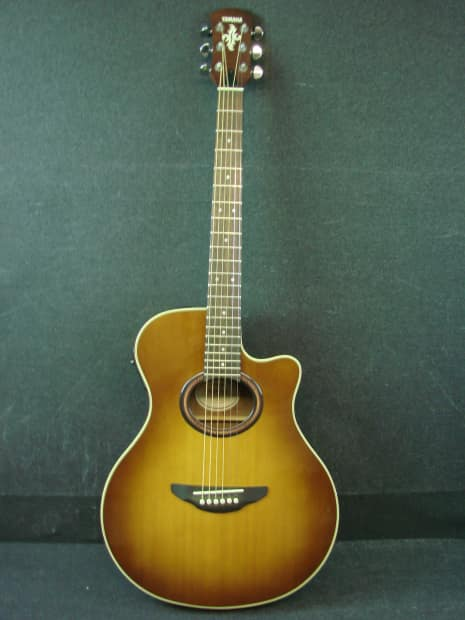 Yamaha apx 5a acoustic electric guitar w bag apx5a reverb for Yamaha apx series