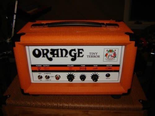 Orange Custom Handwired Tiny Terror In Custom Head