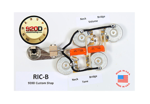 rickenbacker 5 control wiring diagram rickenbacker wiring description duncan srb 1 pickup set for rickenbacker bass guitar 920d reverb on rickenbacker 3 pickup wiring