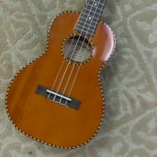 Mainland RC-7T Cedar Top Tenor Ukulele. Fully Setup, Adjusted and Ready To Play! image