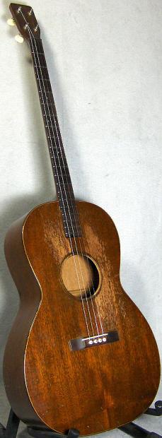 1929 martin 1 17p plectrum pre war long neck tenor guitar w hardcase reverb. Black Bedroom Furniture Sets. Home Design Ideas