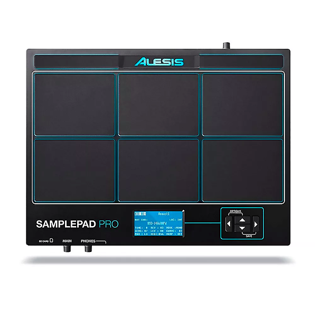alesis samplepad pro 8 pad percussion and sample triggering reverb. Black Bedroom Furniture Sets. Home Design Ideas