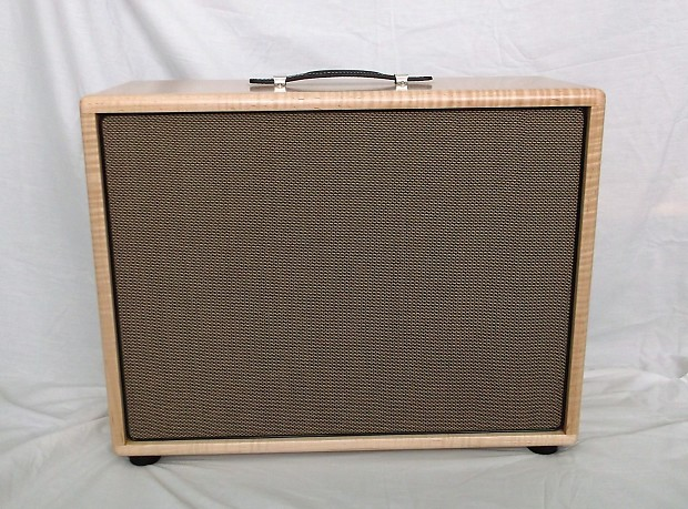 Solid 3a Flame Maple 1 X 12 Guitar Speaker Cabinet Lacquer Reverb