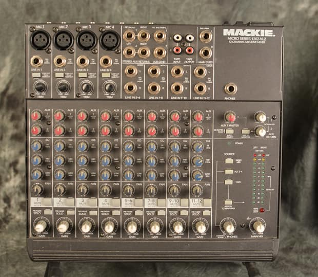 mackie 1202 vlz pro audio mixer made in usa version reverb. Black Bedroom Furniture Sets. Home Design Ideas