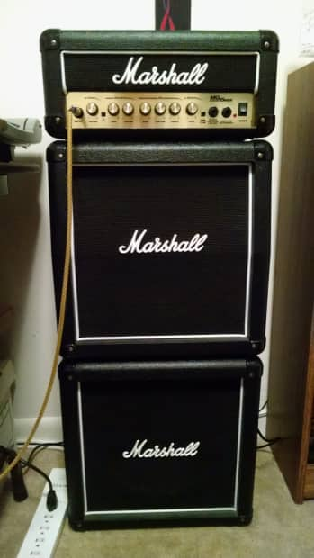 mg series 15msii mini stack marshall amplifier may 7th will reverb. Black Bedroom Furniture Sets. Home Design Ideas