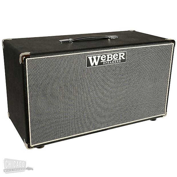 Weber X Cab 2x12 100w Speaker Cabinet Reverb