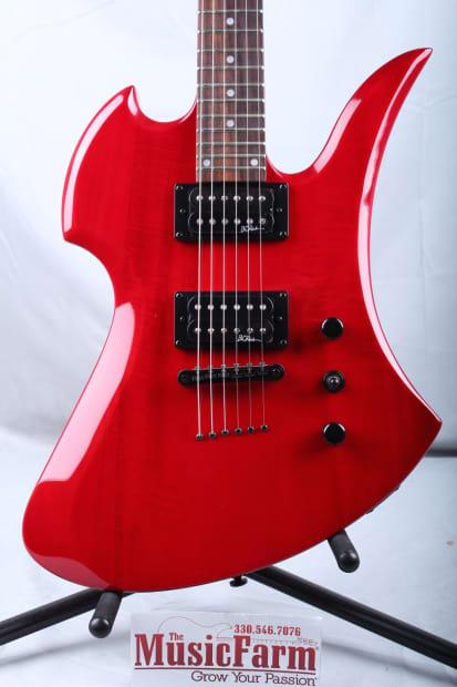 BC Rich MG1TRD Mockingbird One Electric Guitar Trans Red ...