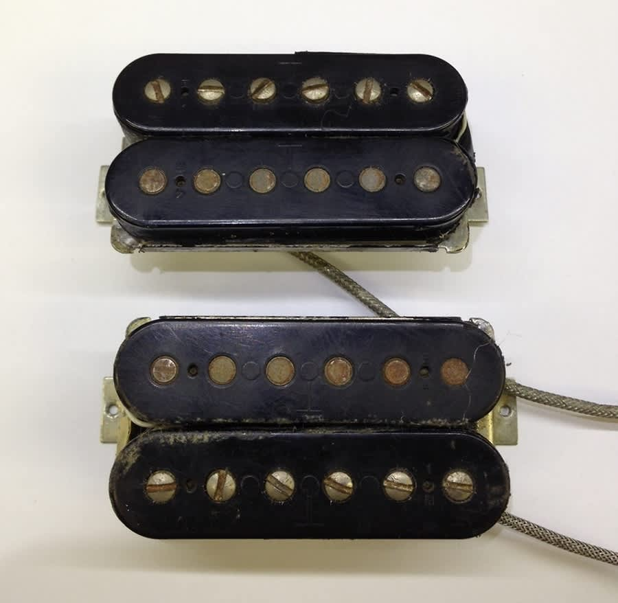 dating gibson ttop pickups We will not break up this set international buyers must contact us before purchase fantastic original 1962 gibson patent sticker pre t-top paf pickups.