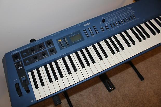 yamaha cs1x synthesizer piano keyboard reverb