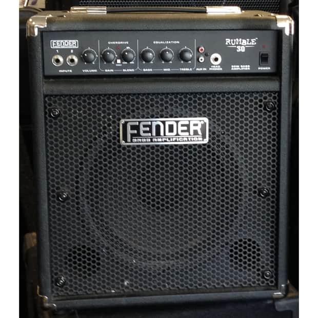 fender rumble 30 bass practice amp reverb. Black Bedroom Furniture Sets. Home Design Ideas